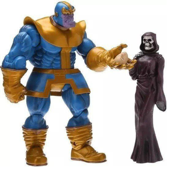 Boneco Thanos Marvel Select - Diamond Select - CD