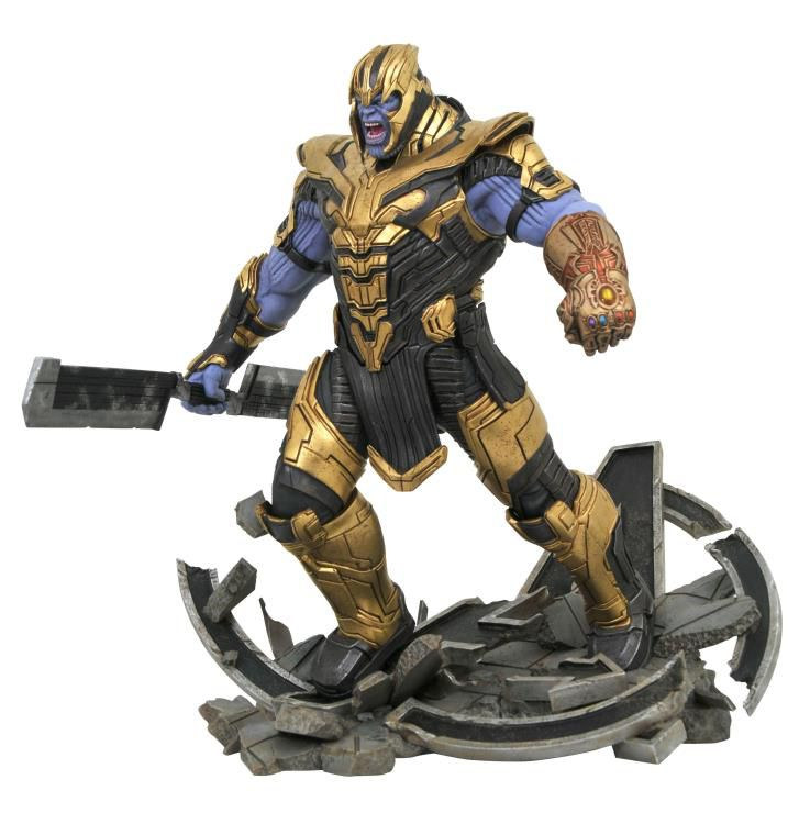 Estátua Thanos: Vingadores Ultimato (Avengers: Endgame) (Milestone) (Limited Edition) - Diamond Select (Apenas Venda Online)