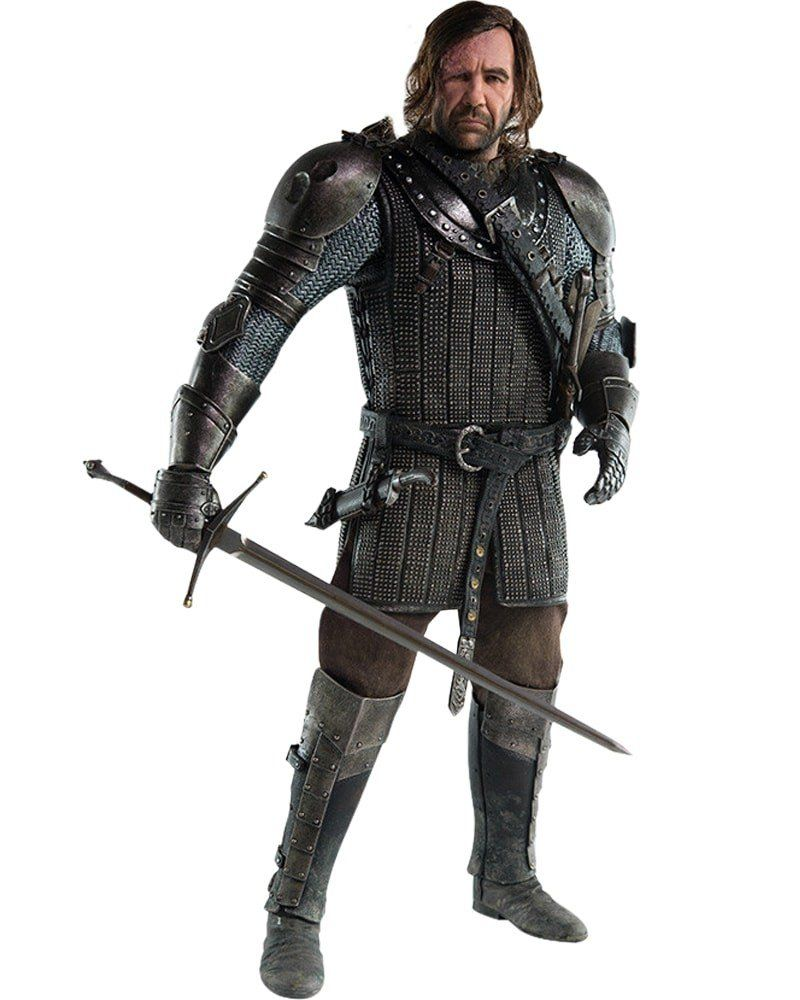 Boneco The Hound: Game of Thrones Escala 1/6 - ThreeA - CD
