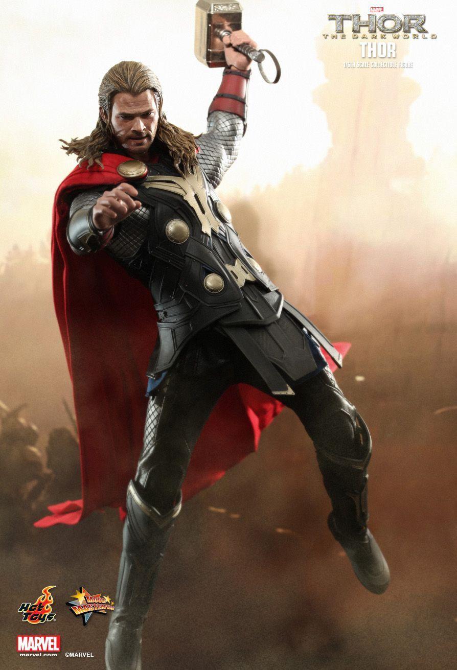 Boneco Thor: Thor O Mundo Sombrio (The Dark World) (MMS224) Escala 1/6 - Hot Toys