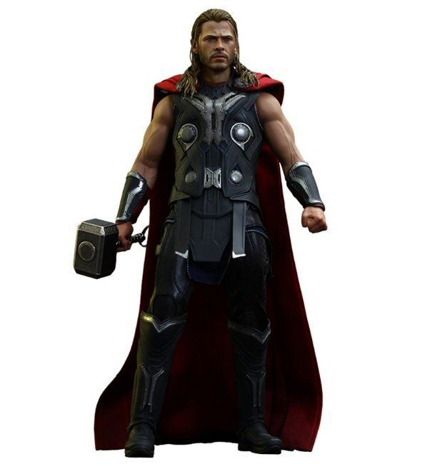 Action Figure Thor: Vingadores Era de Ultron (Avengers Age of Ultron) Escala 1/6 (MMS306) - Hot Toys (USADO E SEM CAIXA)