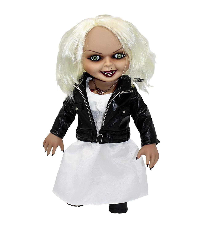 Boneco Tiffany: A Noiva de Chucky (Bride of Chucky) (Figura que Fala) - Mezco (Apenas Venda Online)