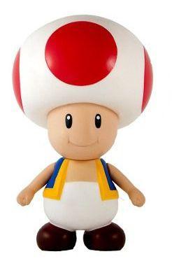 Boneco Toad: Super Mario Bros (20Cm)