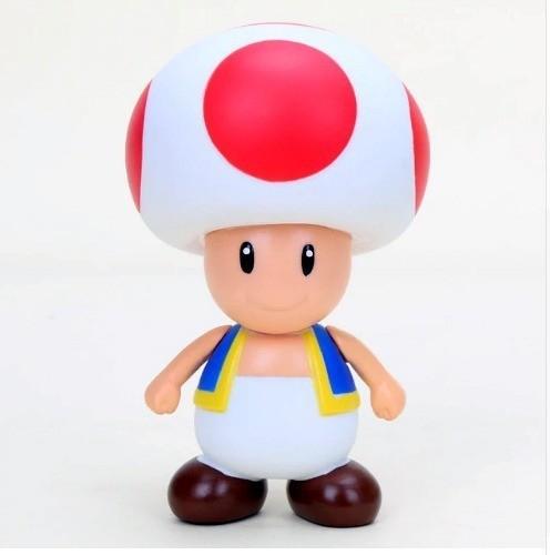 Boneco Toad: Super Mario Bros - Banpresto (10cm)