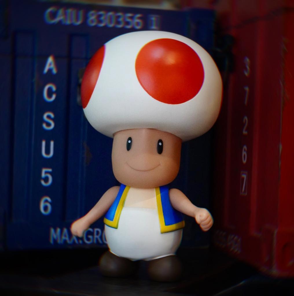 Boneco Toad: Super Mario Bros World (20Cm) - EV