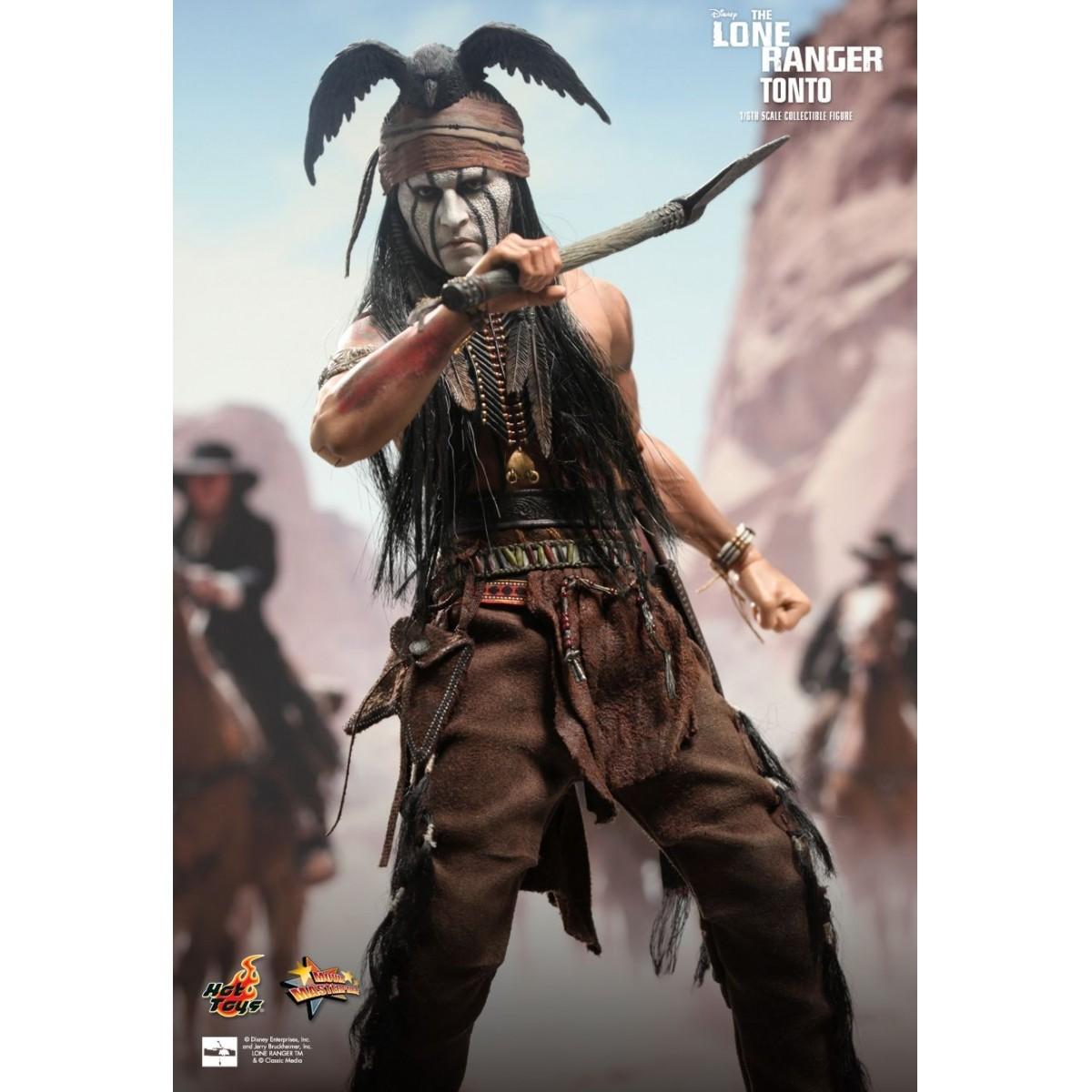 Boneco Tonto: O Cavaleiro Solitário Escala 1/6 - Hot Toys
