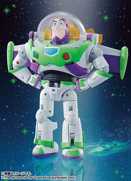 Boneco Toy Story Buzz The Space Ranger Robo: Chogokin Combination - Bandai - CD