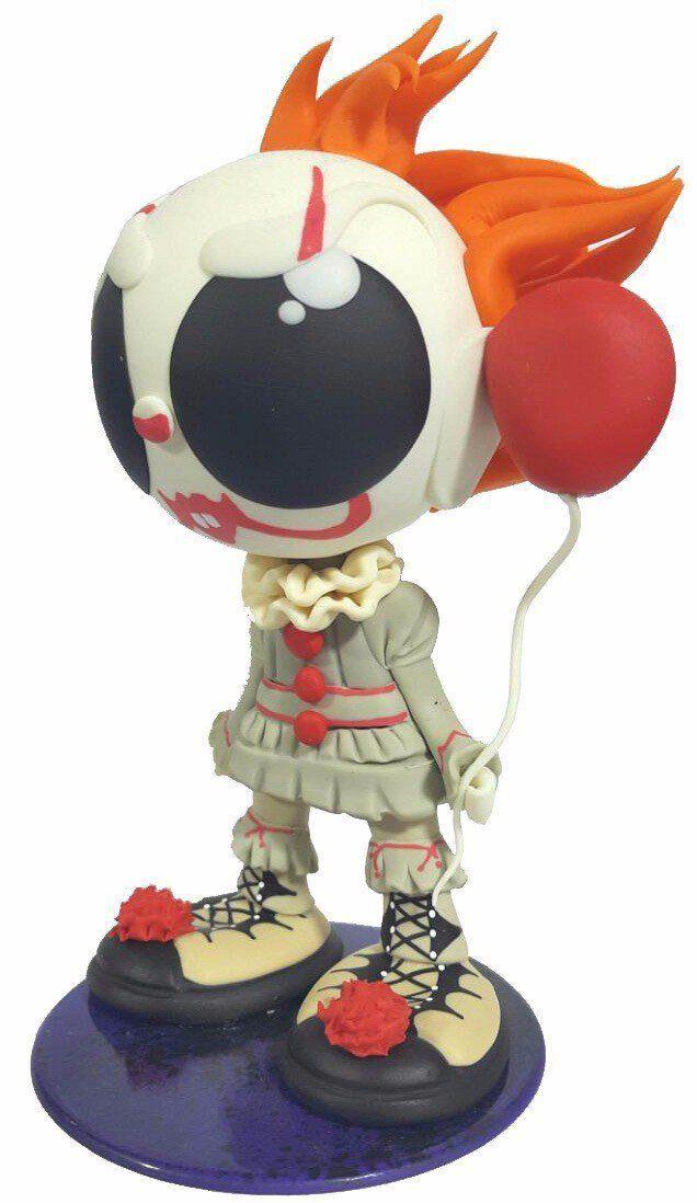 Boneco ToyPop Pennywise (A Coisa): IT (It: Uma Obra-prima do Medo)