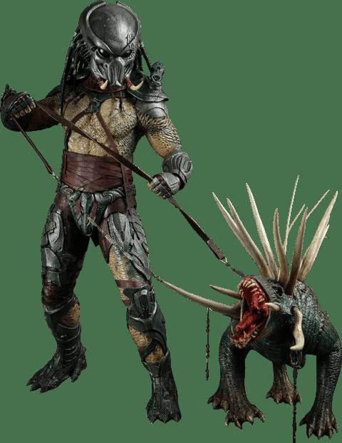 Action Figure Tracker Predator (Predador): Predadores (Predators) Escala 1/6 (MMS147) Boneco Colecionáve - Hot Toys - CG