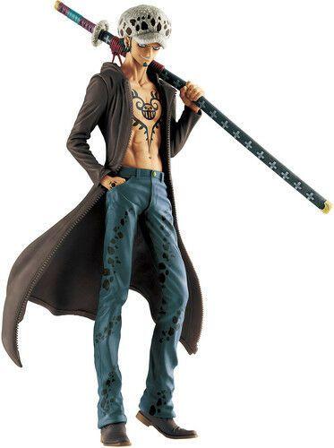 Action Figure Trafalgar D. Water Law (Memory Figures): One Piece (Boneco Colecionável) - Banpresto
