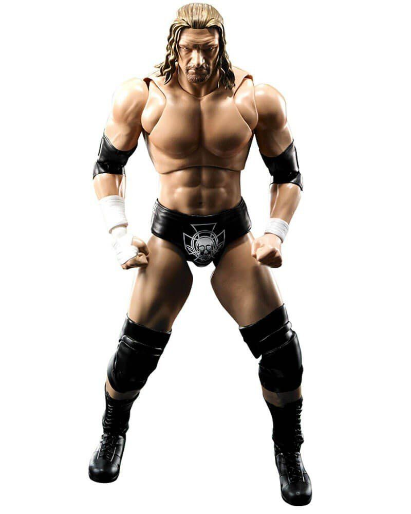 Boneco Triple H: WWE (World Wrestling Entertainment) S.H.Figuarts - Bandai - CD