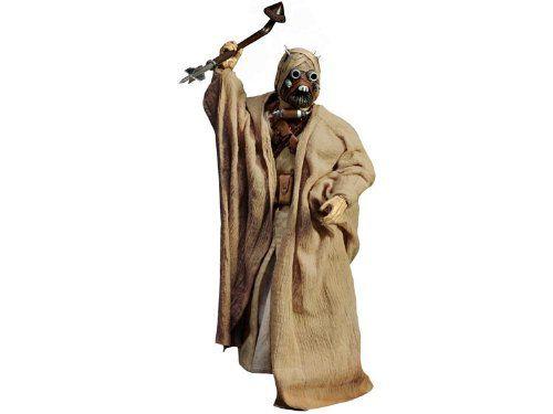 Boneco Tusken Raider (Sand People): Star Wars (Scum & Villainy) 1/6 - Sideshow Collectibles - CG