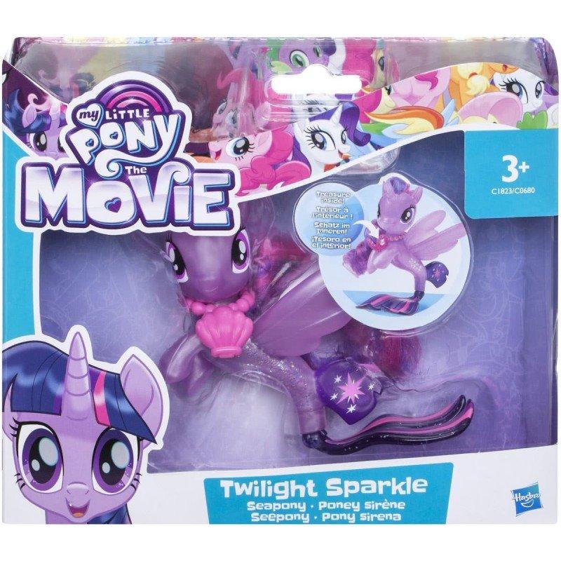 Boneco Twilight Sparkle Pônei-Marinho:  My Little Pony O Filme - Hasbro