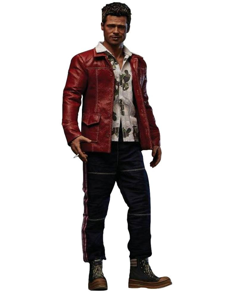 Action Figure Tyler Durden (Red Jacket) (Brad Pitt): Clube da Luta (Fight Club) Escala 1/6 - Blitzway