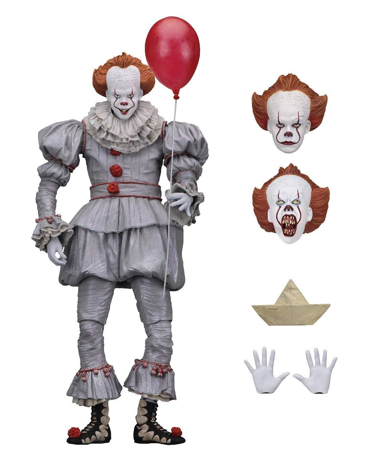 Action Figure Ultimate Pennywise IT A Coisa 2017 Escala 1/10 - NECA