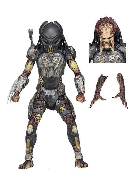 Boneco Ultimate Predador Fugitivo (Fugitive Predator): O Predador (The Predator) Escala 1/10 - NECA
