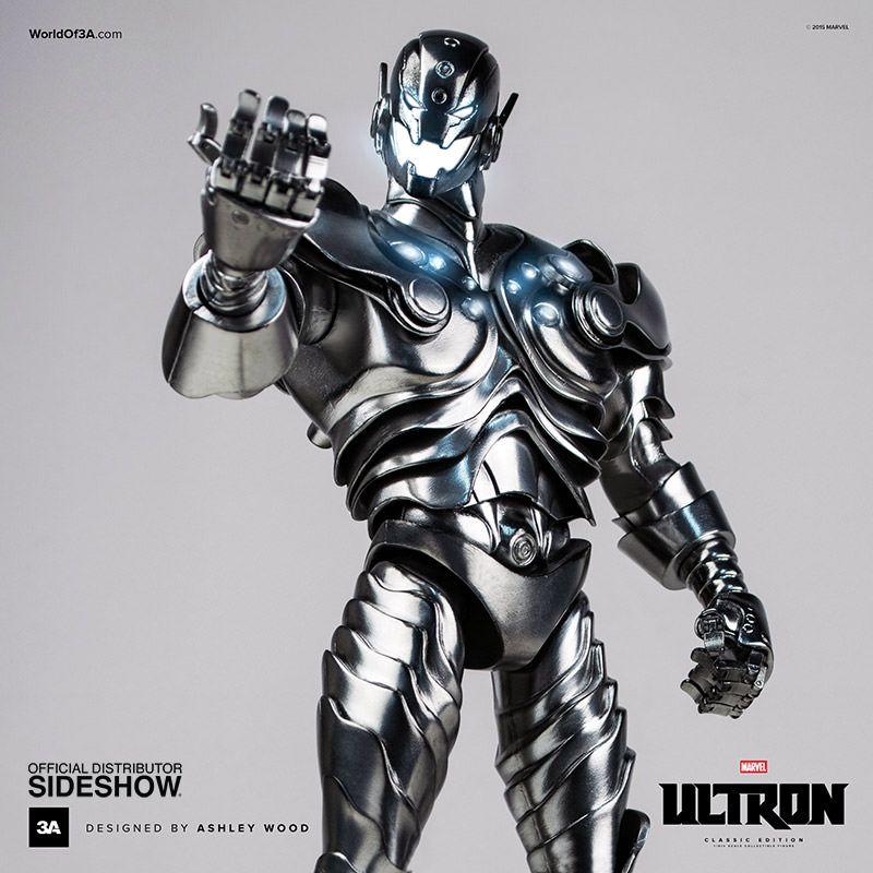 Boneco Ultron (Classic Edition): Marvel 1/6 - TreeA Toys