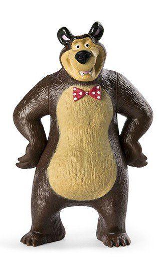 Boneco Urso Chique: Masha e o Urso - Sunny
