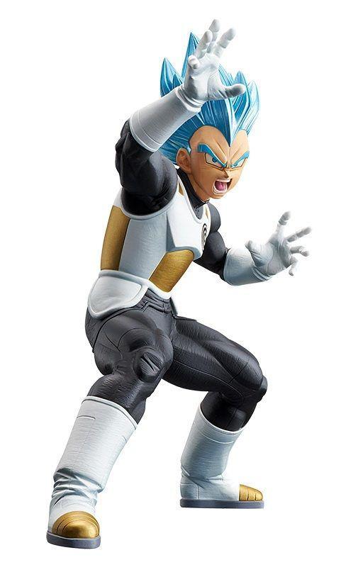 Action Figure Vegeta Blue Super Saiyajin (Transcendence Art): Dragon Ball Heroes - Boneco Colecionável - Banpresto