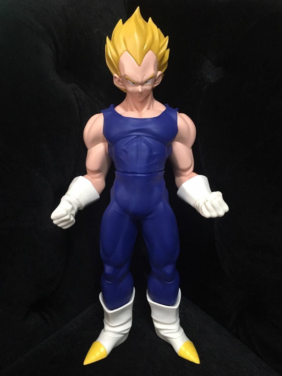 Boneco Vegeta Super Saiyan: Dragon Ball Z (40cm)