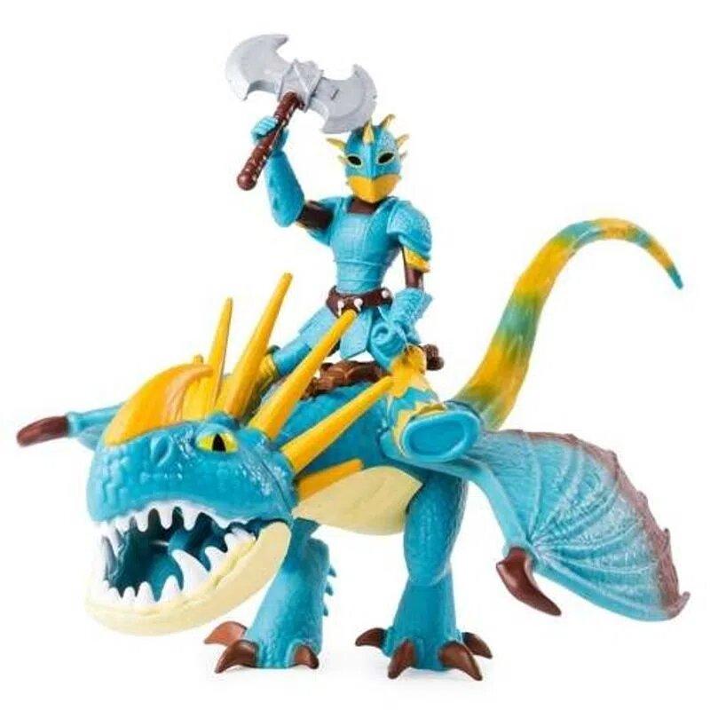 Boneco Viking E Dragão (Astrid e Stormfly): Como Treinar o seu Dragão 3 - Sunny