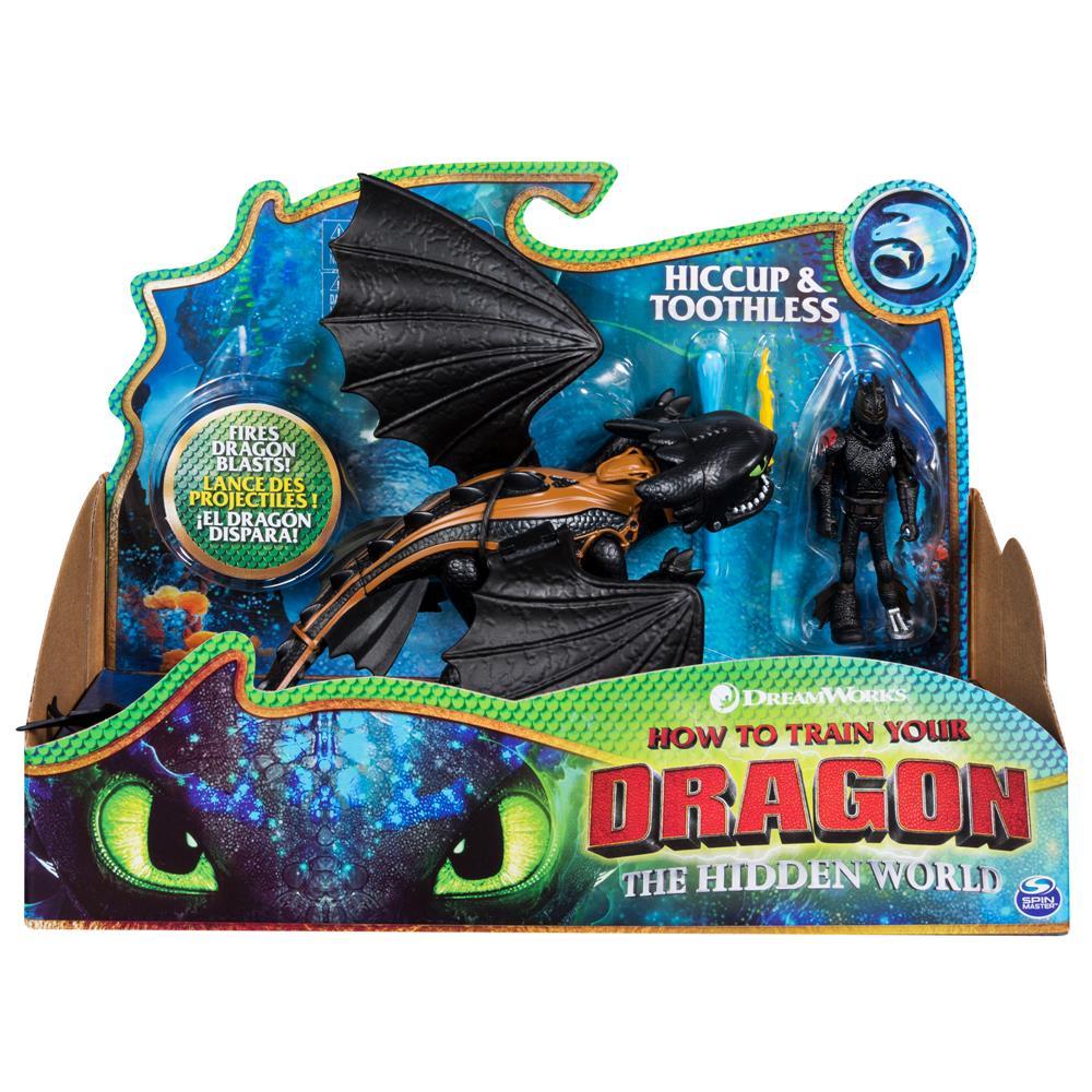 Boneco Viking E Dragão (Hiccup e Toothless): Como Treinar o seu Dragão 3 - Sunny