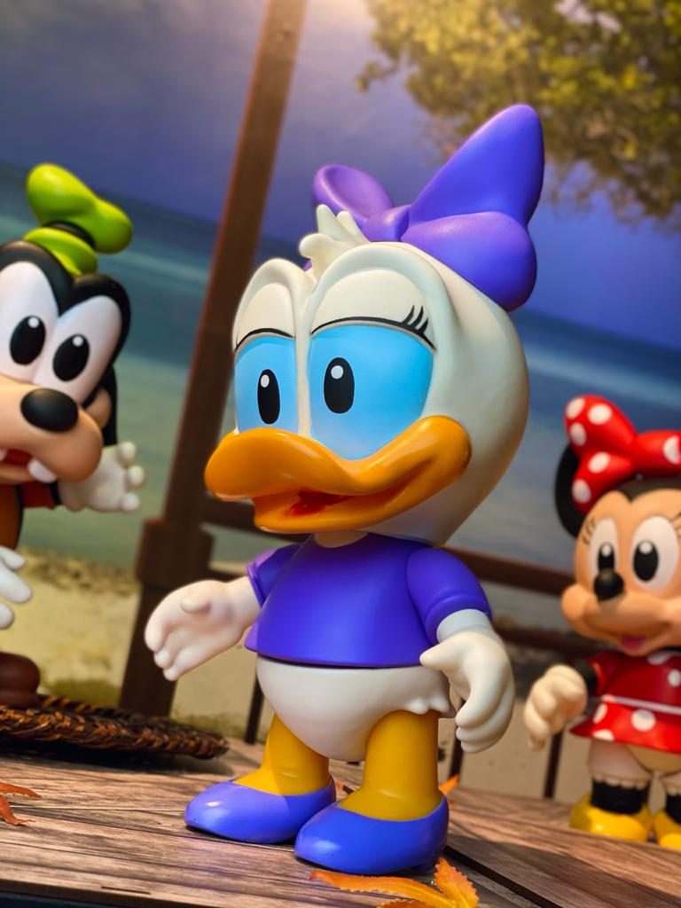 Boneco Vinil: Margarida Baby (Disney) - Lider