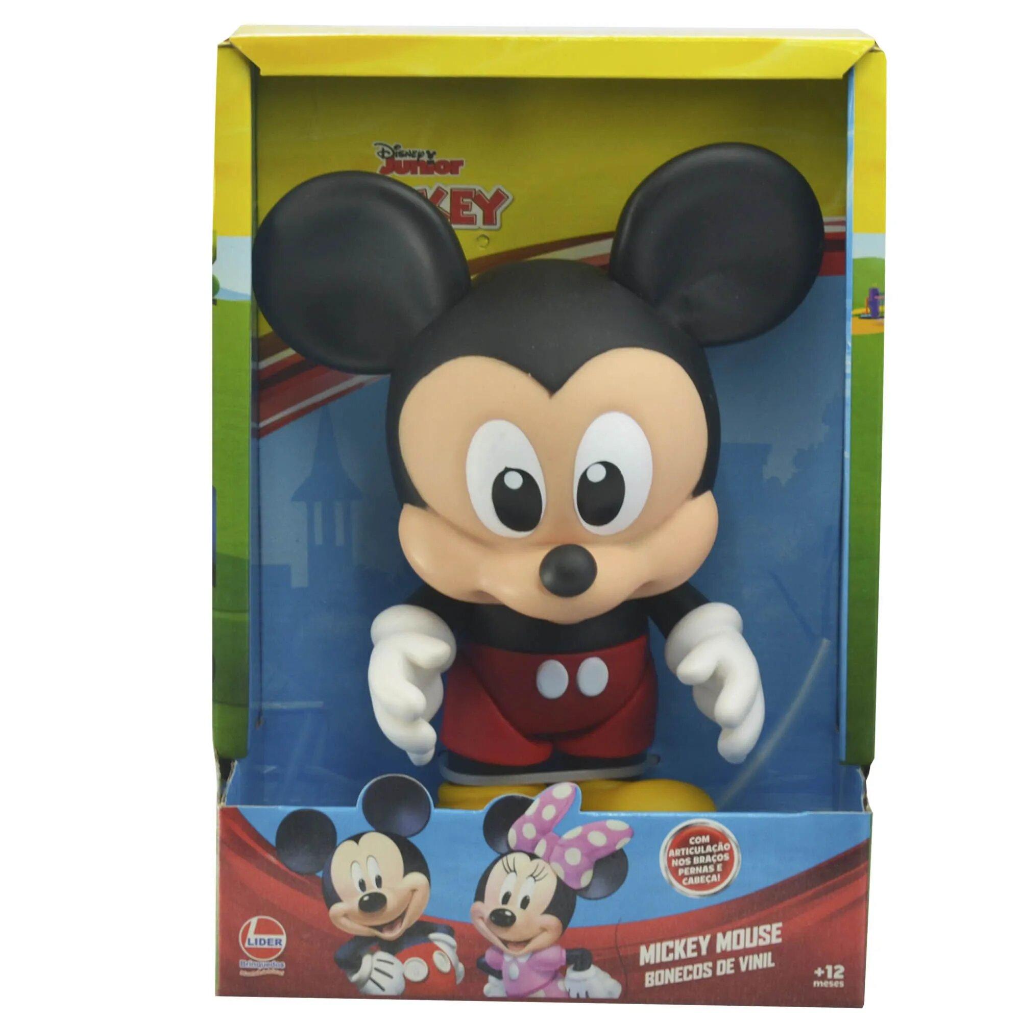 Boneco Vinil: Mickey Mouse Baby (Disney) - Lider
