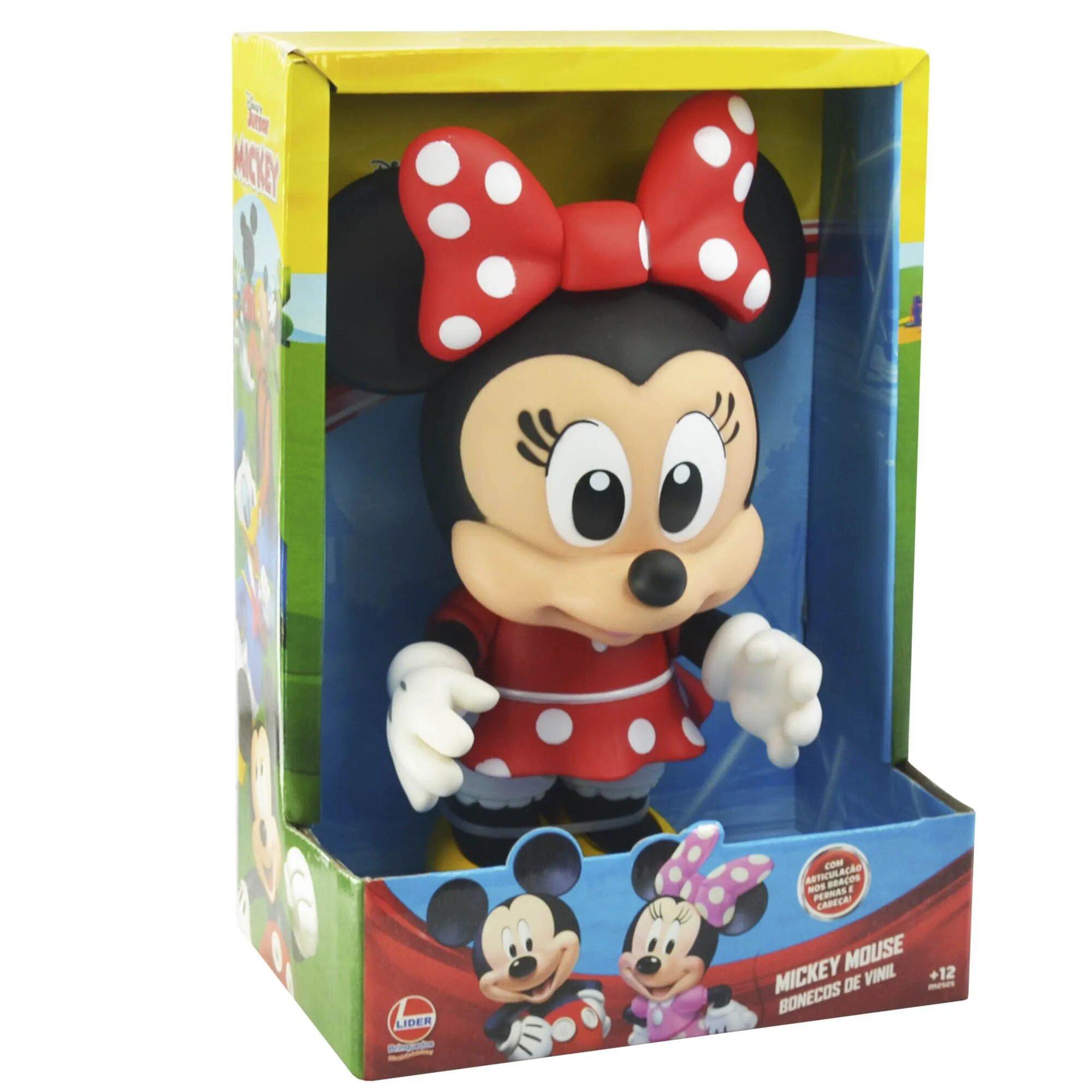 Boneco Vinil: Minnie Mouse Baby (Disney) - Lider