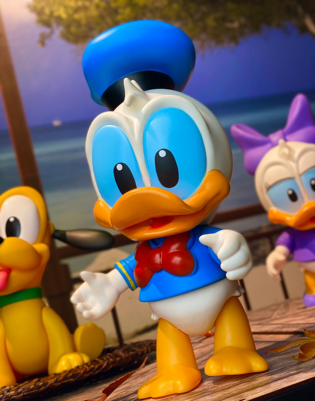 Boneco Vinil: Pato Donald Baby (Disney) - Lider