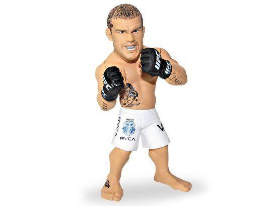Boneco Vitor Belfort (The Phenom) Short Branco: UFC Ultimate Collector