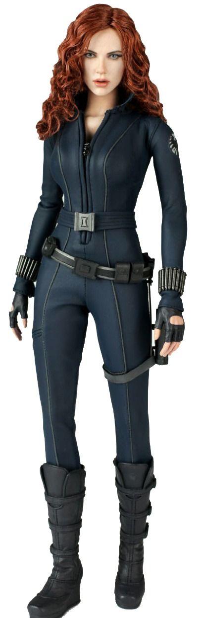 Boneco Viúva Negra (Black Widow): Homem de Ferro 2 (Iron Man2) Escala 1/6 (MMS124) - Hot Toys - CG