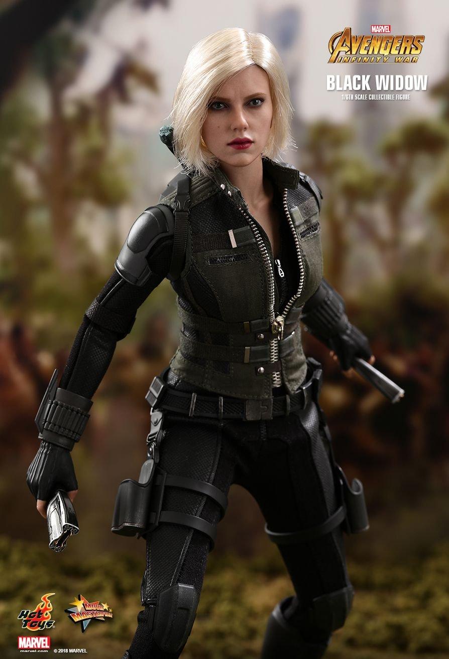 PRÉ VENDA: Boneco Viúva Negra (Black Widow):Vingadores Guerra Infinita (Avengers Infinity War) (MMS460) Escala 1/6 - Hot Toys