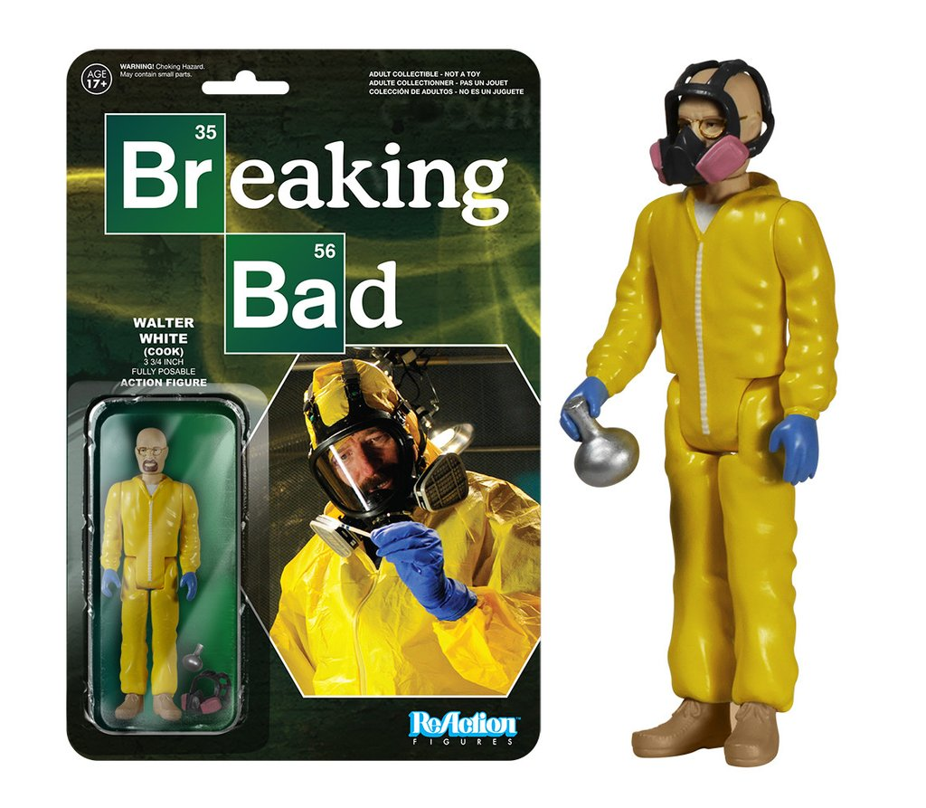 Funko Boneco Walter White (Cook): Breaking Bad - Funko