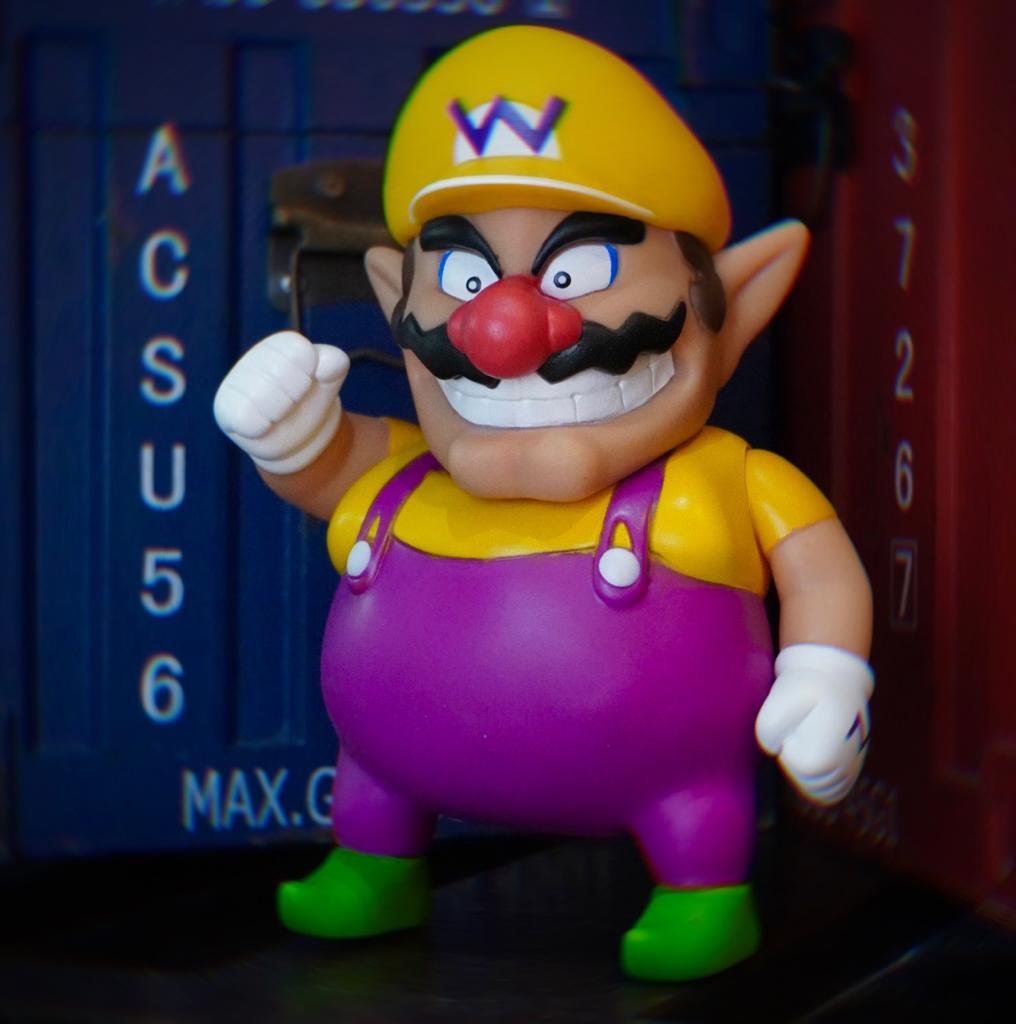 Boneco Wario: Super Mario Bros World (20Cm)