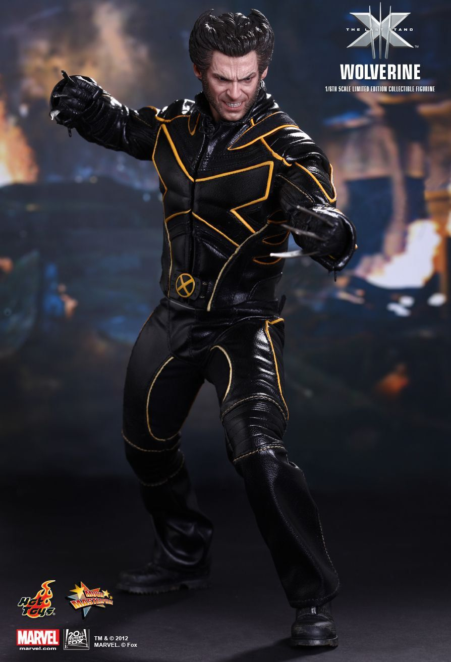 Action Figure Wolverine: X-Men O Confronto Final (The Last Stand) Escala 1/6 (MMS187) - Hot Toys