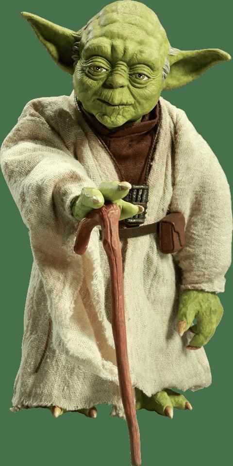 Boneco Yoda (Jedi Mentor): Star Wars O Império Contra-Ataca (The Empire Strikes Back) Escala 1/6 - Sideshow - CG