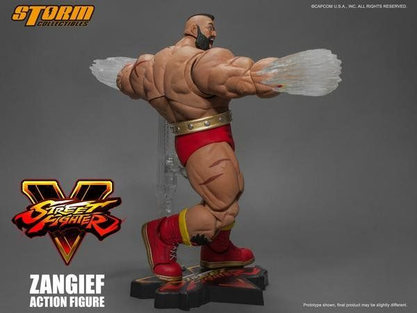 Boneco Zangief: Street Fighter V Escala 1/12 - Storm Collectibles