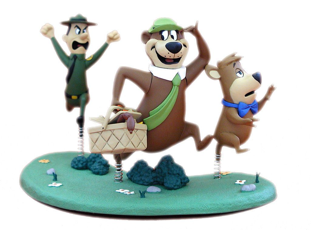 Boneco Zé Colmeia (Yogi Bear): Hanna-Barbera - McFarlane