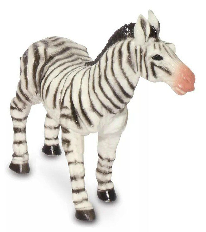 Boneco Zebra: Animais da Selva (Bicho Mundi) - DTC