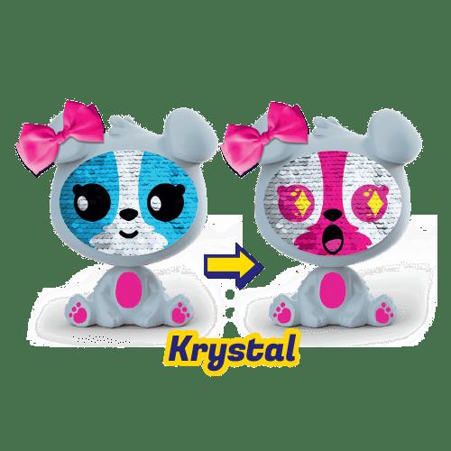 Boneco Zequins: Cachorrinho Krystal - DTC