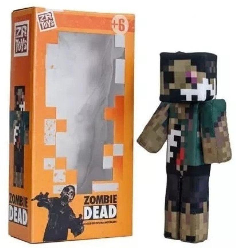 Boneco Zombie Dead: Minecraft - ZR Toys