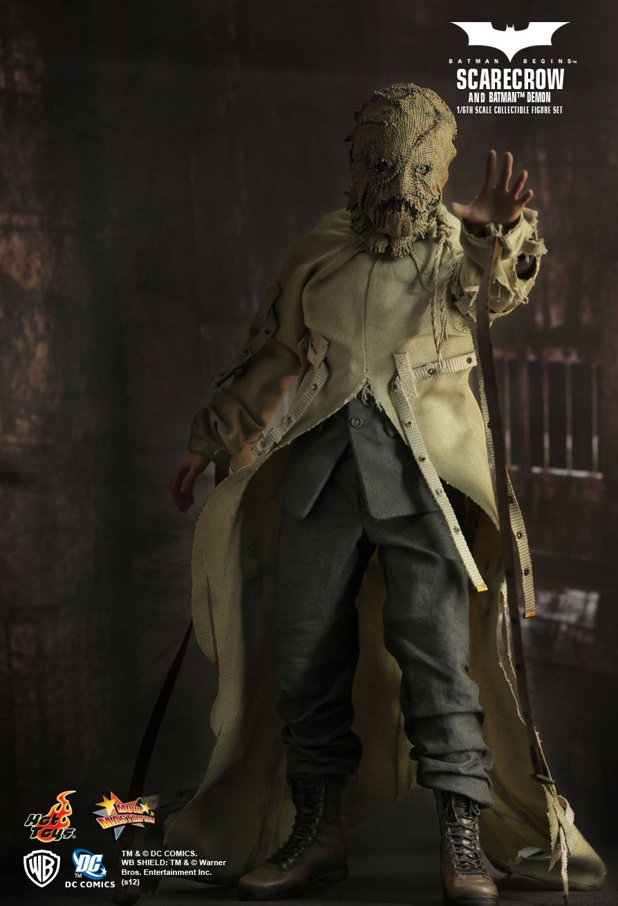 Bonecos Batman Demon & Scarecrow (Hot Toys 10TH Anniversary Exclusive) Escala 1/6 - Hot Toys