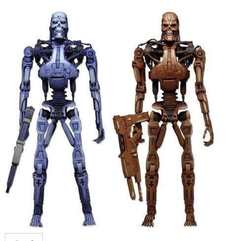 Bonecos Blue and Red T-800: Robocop Vs. The Terminator Endoskeleton Escala 1/10 - Neca