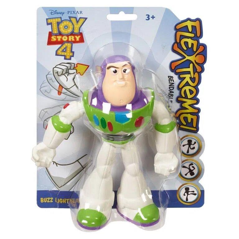 Bonecos Buzz Lightyear: Flexíveis Toy Story 4 - Mattel (20cm)