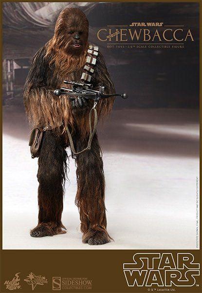 Bonecos Han Solo & Chewbacca: Star Wars Uma Nova Esperança (Uma Nova Esperança) Escala 1/6 (MMS263) - Hot Toys - CG
