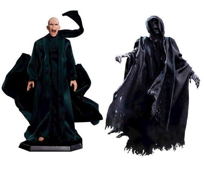 Bonecos Lord Voldemort & Dementador: Harry Potter e o Cálice de Fogo Escala 1/8 (Special 2-Pack) - Star Ace