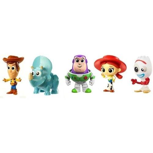 "Bonecos Minis ( Woody, Jessie, Garfinho, Buzz Lightyear e Trixie) "" Os Brinquedos da Bonnie"" - Toy Story"