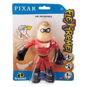 Bonecos Senhor Incrível:  Flexíveis Os Incríveis - Mattel (20cm)