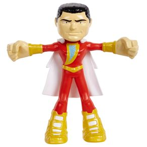 Bonecos Shazam: Flexíveis Dc - Super Heroes - Mattel (10cm)